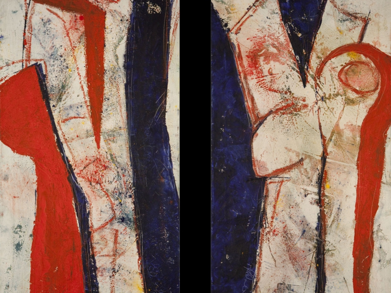 Abstrakt oder figural? Vertikal oder horizontal?