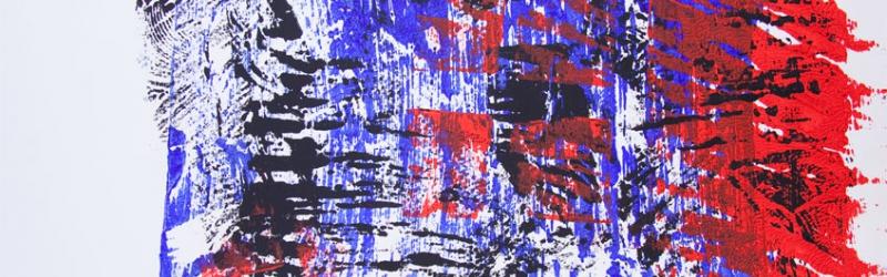 Frottage vom Druckstock 1999
