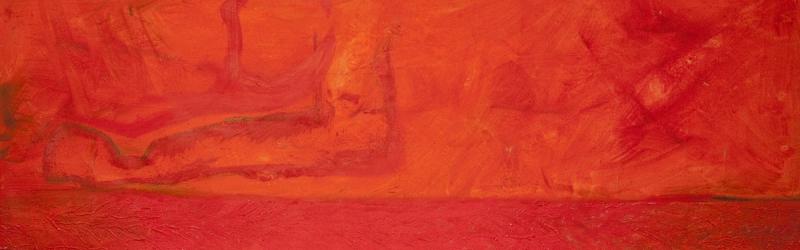 Viele Schichten in feurigen Farben