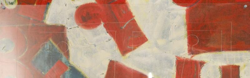 nPuzzleteile von Tel.-Nummern und vorgesetzte Acrylglasscheibe