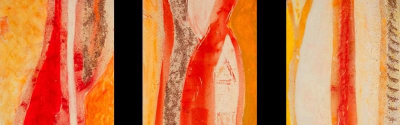 Eine Serie für die Ausstellung im Ägyptischen Kulturinstitut in Wien