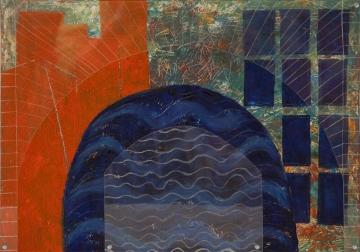 Dreidimensionalität durch Glasscheiben und Schatten